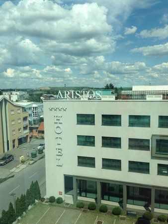 Hotel Aristos: View from window