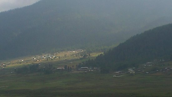 Phobjikha Valley: View of the Valley