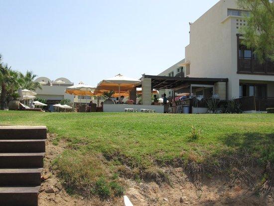 Santa Marina Plaza: Accesso alla spiaggia