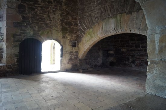 Doune Castle: The Kitchen - Doubled as the Castle Anthrax