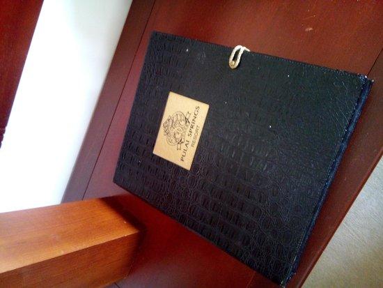 Pulai Springs Resort: In house menu booklet