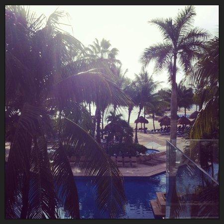 Dreams Puerto Aventuras Resort & Spa: View from the hotel room