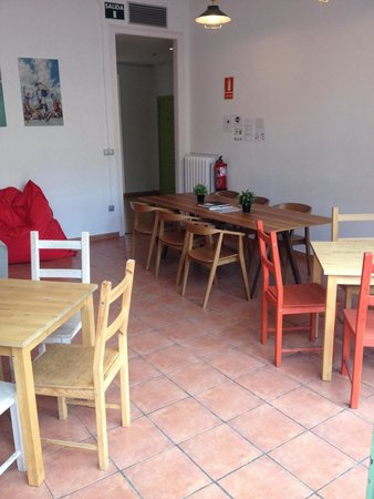Rodamon Barcelona Hostel : Salle à manger