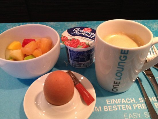Motel One Leipzig-Nikolaikirche: the breakfast