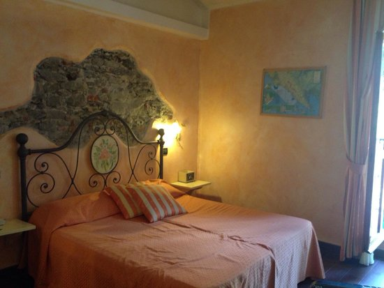 Albergo Marina: La camera da letto