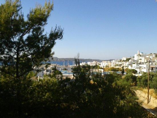 Thalassitra Village Hotel: Aussicht vom Balkon