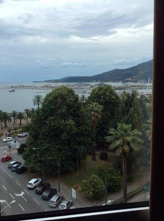 NH La Spezia : dalla finestra camera sesto piano