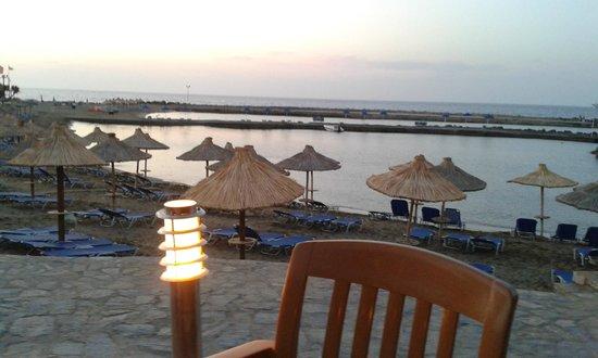 Nana Beach Hotel: The view from the Thalassa restaurant
