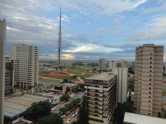 Carlton Hotel Brasilia: vista da janela