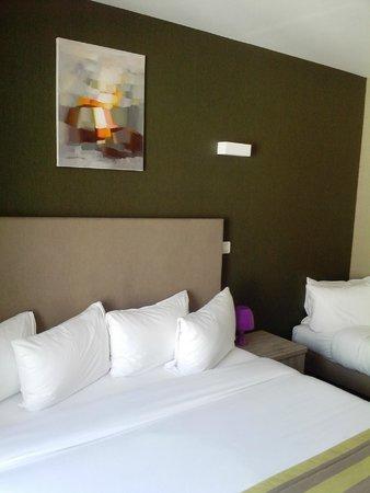 Hotel 29 Lepic: quarto