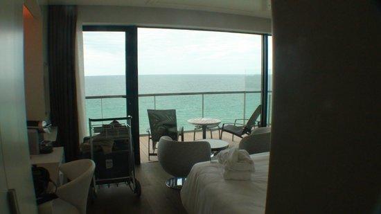 Hotel Oceania Saint Malo : Balkon met zeezicht