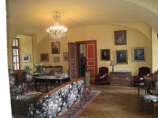 Hotel Restaurant Chateau de Creissels: salon