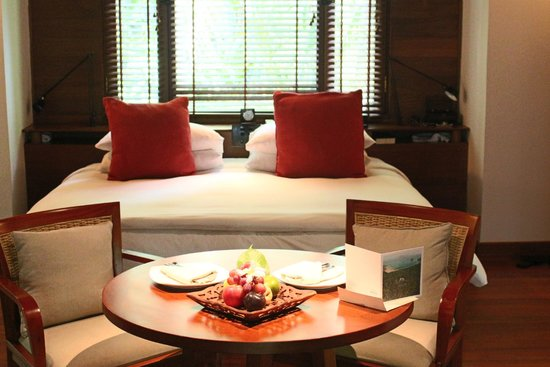 The Datai Langkawi: villa bedroom