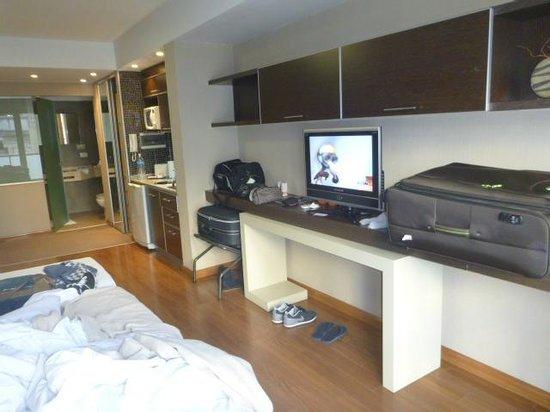 Hotel Ayres De liberdad: Bancada