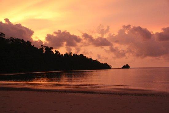 The Datai Langkawi: sunset over datai beach