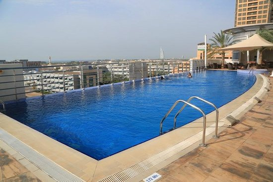 Swimming pool on the 6th floor - Picture of Grand Midwest ...