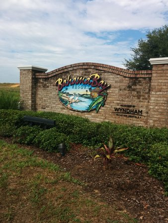 Bahama Bay Resort Orlando by Wyndham Vacation Rentals: Welcome signage