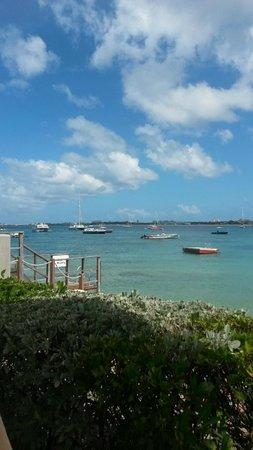 The Villas at Simpson Bay Beach Resort & Marina: View from pool - main building