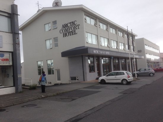 Hotel Vik Arctic Comfort: On trading estate