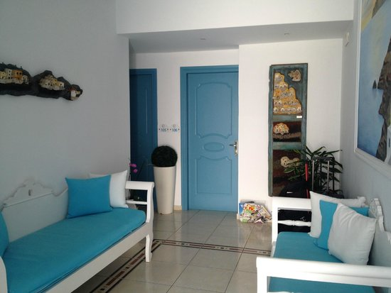 Evgenia Villas & Suites: Área comum