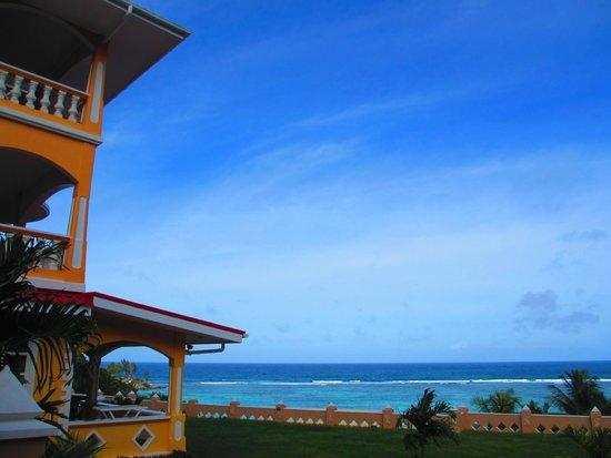 Au Fond de Mer View: Hotel Anlage