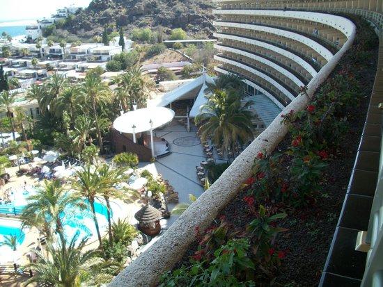 Gloria Palace San Agustín Thalasso & Hotel: Vistas desde la habitación