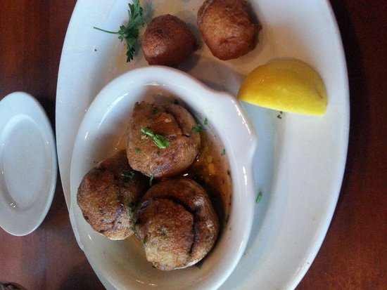 Capt. Anderson's Restaurant: Stuffed Mushrooms