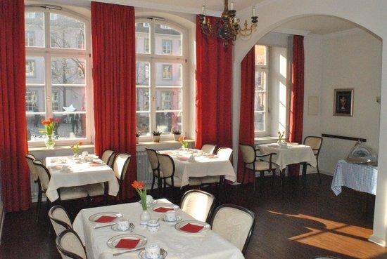 Hotel Garni Am Kornmarkt: Frühstücksraum