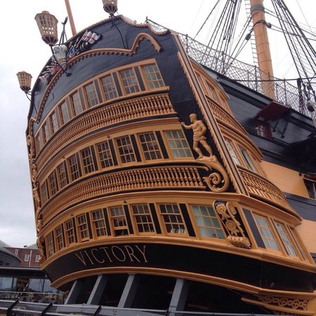 HMS Victory: Incredible detail, iconic vessel