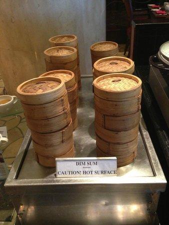 Le Meridien Kota Kinabalu: 朝食は点心もあり
