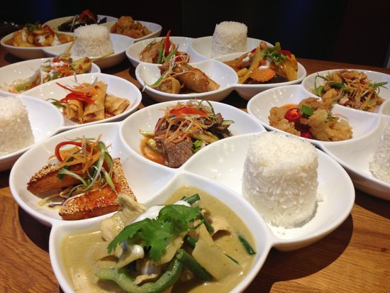 Thai tapas lunch set is available from £8.50.