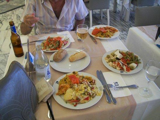 Gloria Palace San Agustín Thalasso & Hotel: Buffet