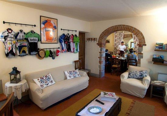 Borgo Lecchi B&B : La sala comune