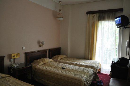 Balasca Hotel: Наш номер