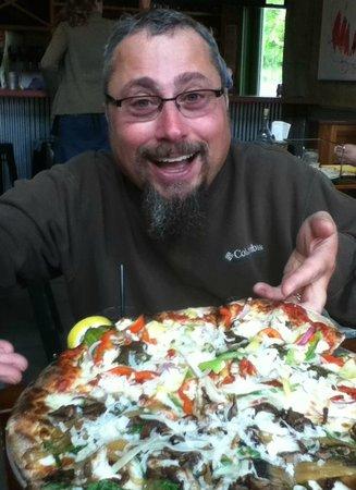 Wild Tomato: Pizza = Happiness