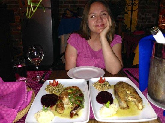 Apostolis Restaurante: Totoaba Entrees