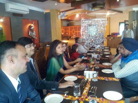 Udaipuri: family lunch