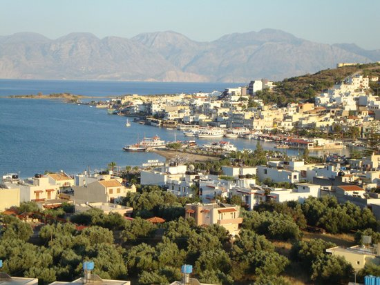 Manos Apartments: Elounda and Manos from the Hope