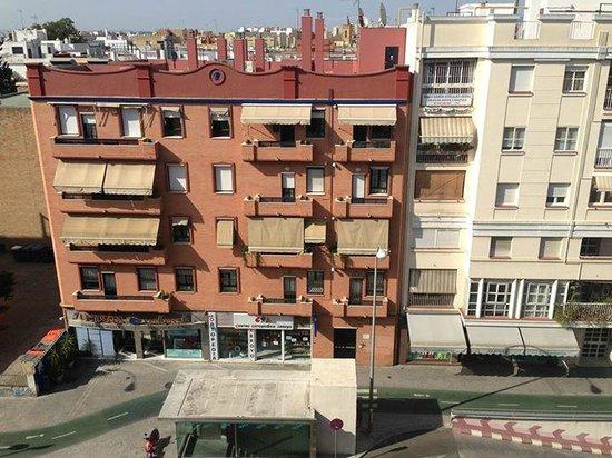Catalonia Santa Justa Hotel: View from the room