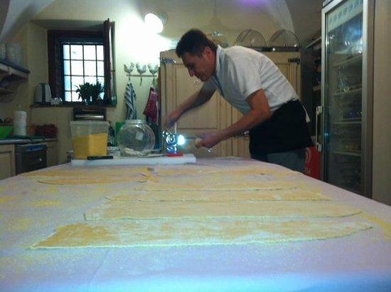 Borgo Lecchi B&B : La pasta fatta in casa