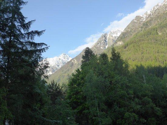 Naturhotel Waldklause: Blick von unsere Balkon