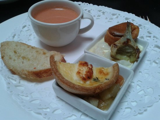 Hotel Des Indes, a Luxury Collection Hotel: Vegetarian High Tea