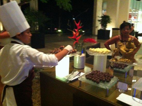 Luxury Bahia Principe Sian Ka'an Don Pablo Collection: Chocolate bar on sundays