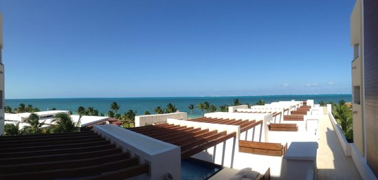Excellence Playa Mujeres: Outside our Room View; Bld. No. 8 3rd Floor