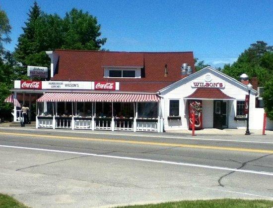 """Wilson's Restaurant : Wilson""""s for Ice cream"""