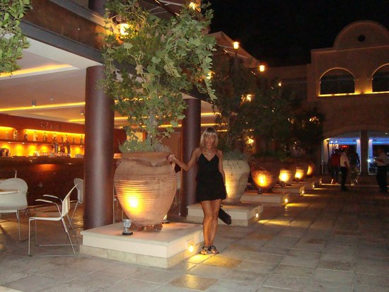 Napa Plaza Hotel: Ресторан вечером