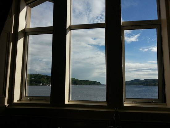 Oban Bay Hotel: view from window