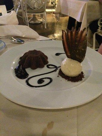 Prime Steakhouse : Designer dessert!
