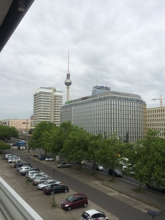 Mercure Hotel Berlin am Alexanderplatz: View from our room