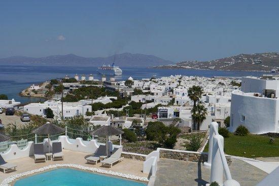 Ilio Maris Hotel : Вид с балкона номера